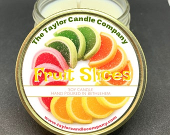 Fruit Slices - Soy Candle