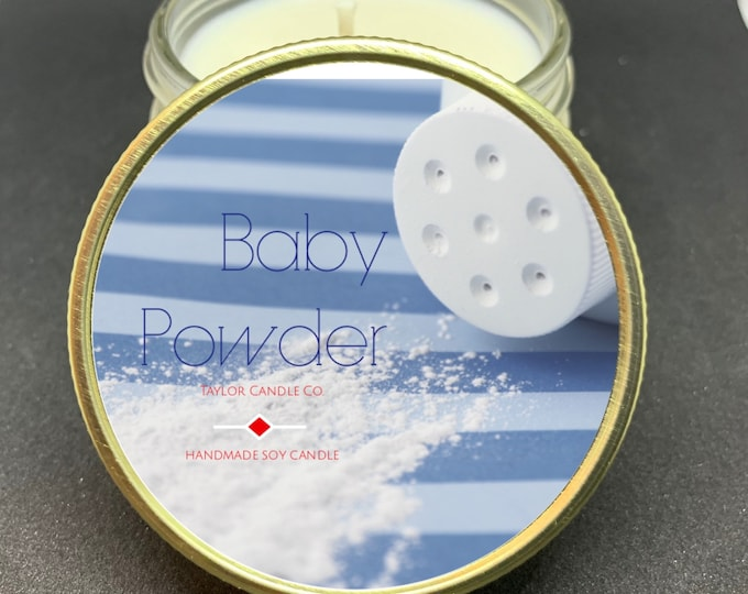 Baby Powder - Soy Candle