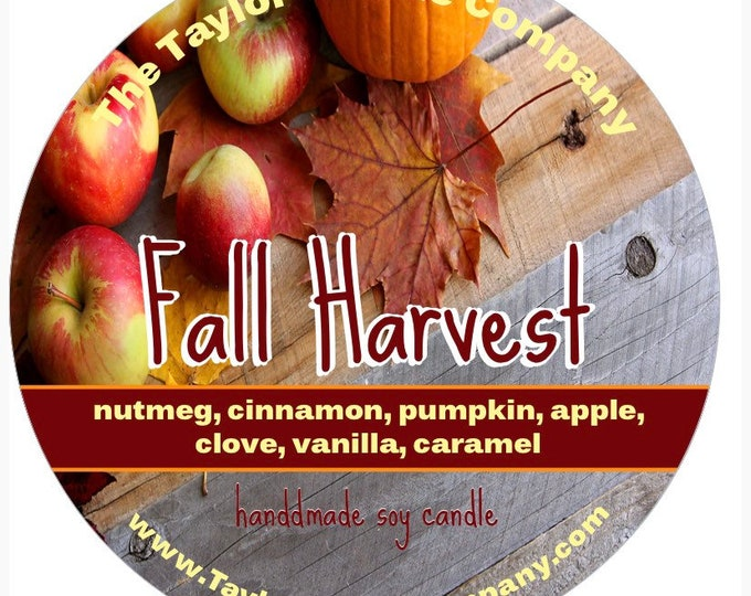 Fall Harvest - Soy Candle