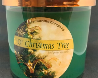 O Christmas Tree - Soy Candle Various sizes