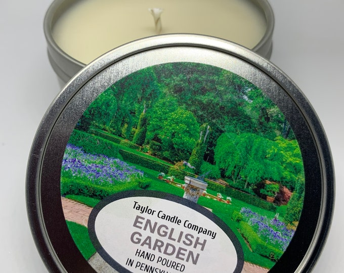 English Garden - Soy Candle