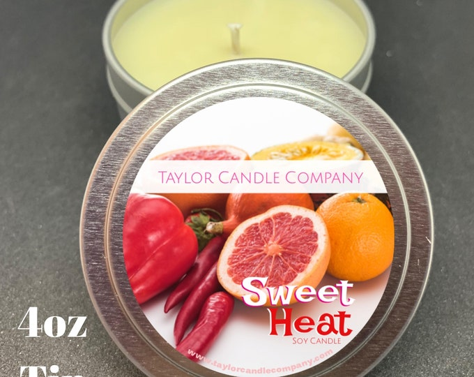 Sweet Heat - Soy Candle