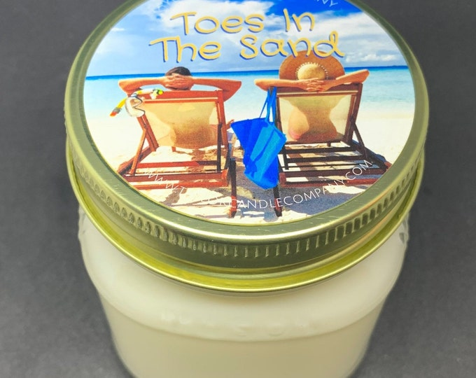 Toes In The Sand - Soy Candle