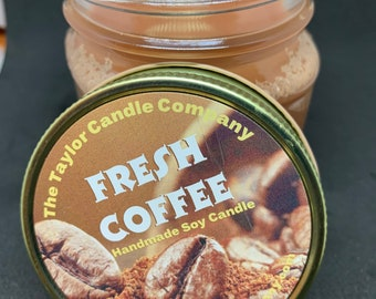 Fresh Coffee - Soy Candle