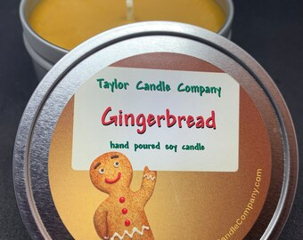 Gingerbread -  Soy Candle Various sizes