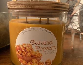 Caramel Popcorn - Soy Candle