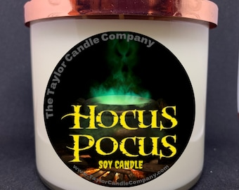 Hocus Pocus Soy Candle