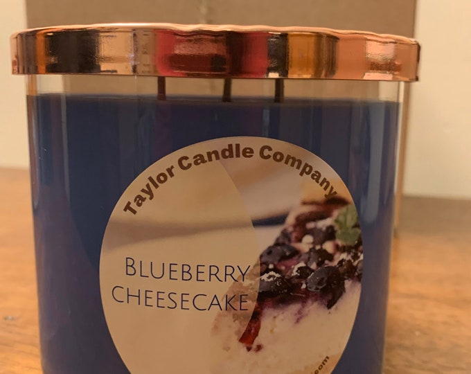 Blueberry Cheesecake - Soy Candle various sizes