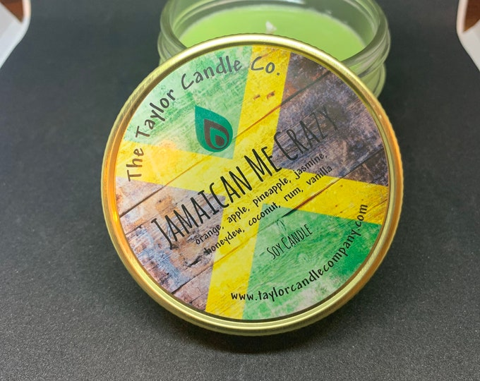 Jamaican Me Crazy - All Natural Soy Candle