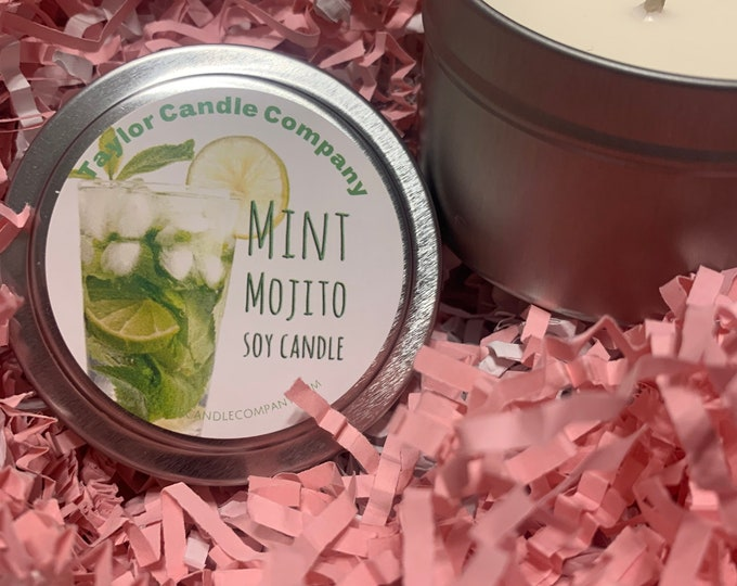 Mint Mojito - Soy Candle