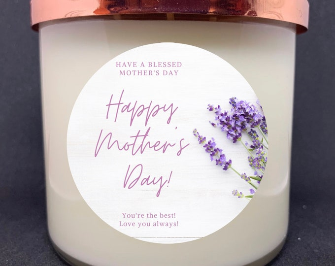Happy Mother's Day w/Lavender