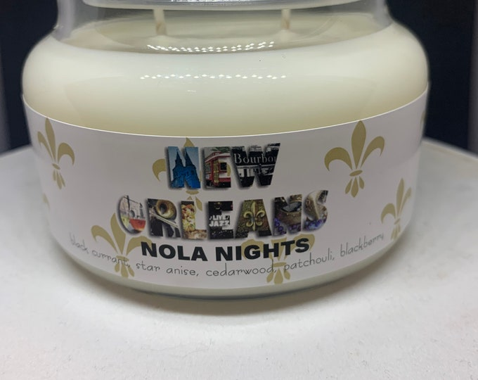"""New Orleans """"NOLA NIGHTS"""" - Soy Candle"""