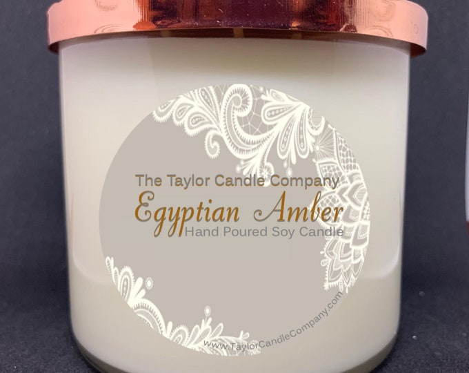 Egyptian Amber - Soy Candle