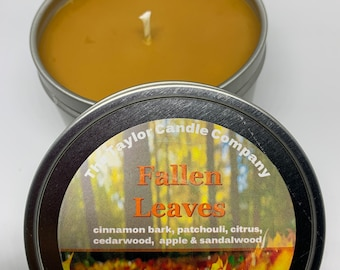 Fallen Leaves - Soy Candle