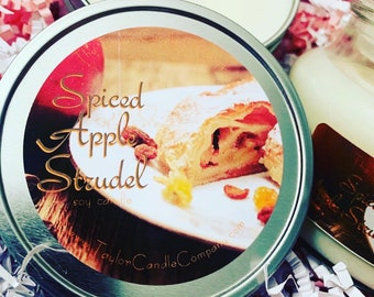 Spiced Apple Strudel - Soy Candle