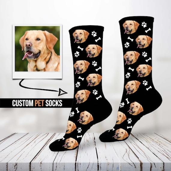 Custom Pup Socks Personalized Pet Socks Custom Dog Socks