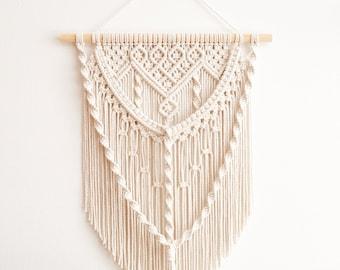 Macrame PDF Pattern Wall Hanging, DIY Macrame Pattern, PDF Tutorial, Macrame Hanger How To Instructions, Craft Patterns, Home Decor Diy