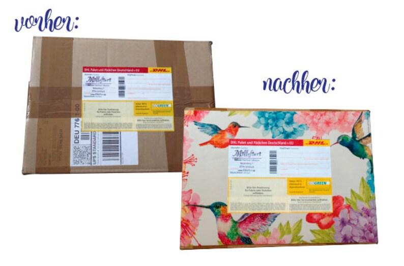 5 paketaufkleber eule post für dich din a4  etsy