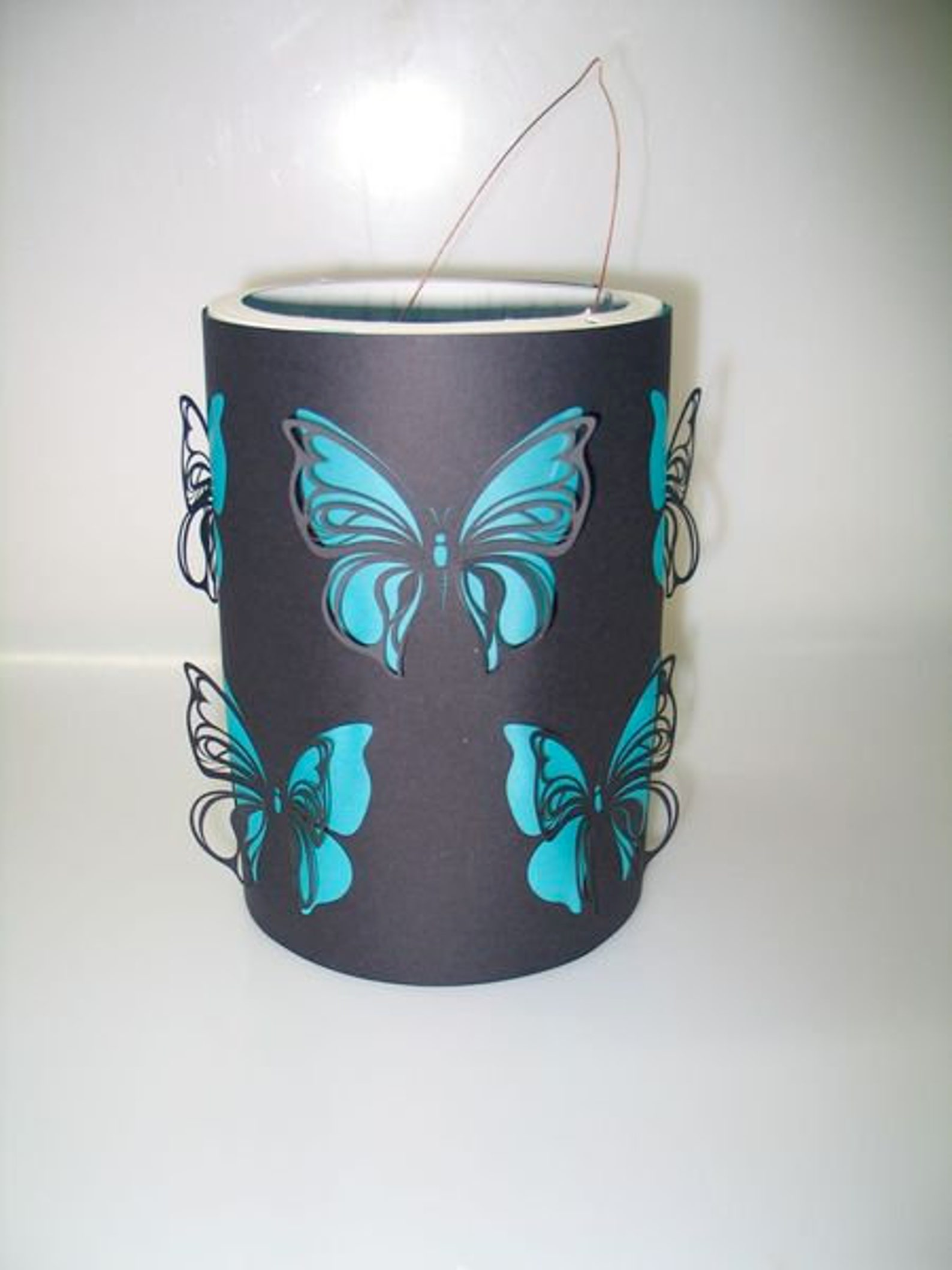 Craft Set Lantern Butterfly, St. Martin's Lantern, Halloween Lantern, Lantern Crafting for Lantern Parade