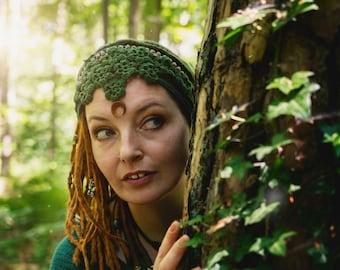 """Flower elves hairband """"Crescent"""""""
