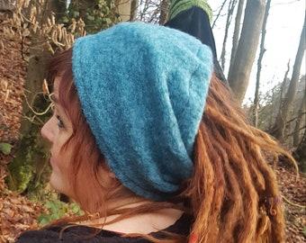 Simple open sloppy hat