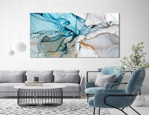 Abstract Woman Glasses Canvas Print Large Picture Wall Print