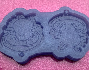 Plant Earring Mould Resin Mold Resin Craft 3mm thick