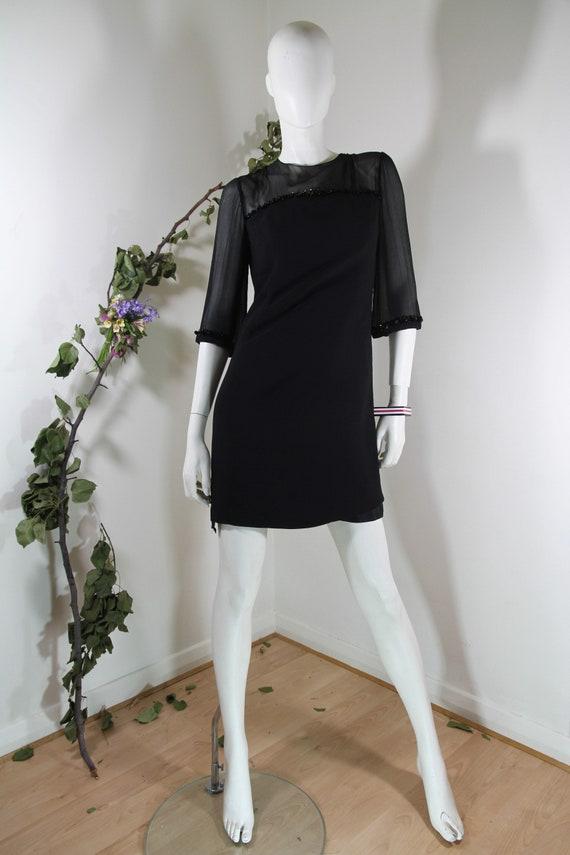 60s Black dress