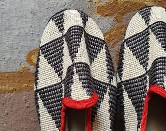 41*UNISEX Venetian sartorial fashion luxury slippers loafer shoes design handmade Italy original recycled friulane furlane veneziane wedding