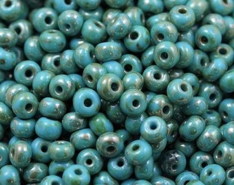 full strand how0553 about 52 beads Turquoise Blue 12mm Howlite PUMPKIN Beads