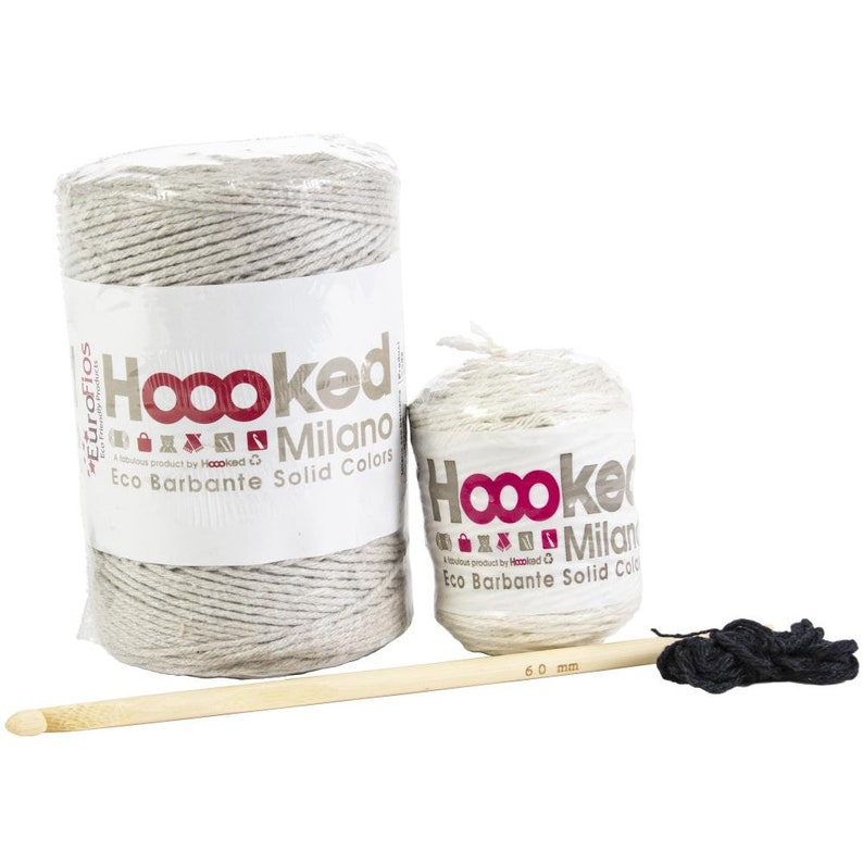 Hoooked Donkey Joe Yarn Kit WEco Brabante Yarn