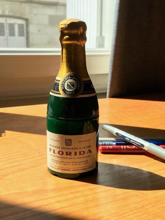 Pen Holder French Champagne Desk Ornament Florida Magenta Mustard