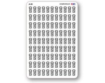Pill sticker