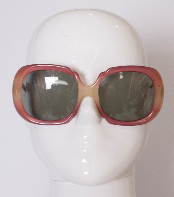 A pair of vintage 1970s sunglasses by Correna Ital