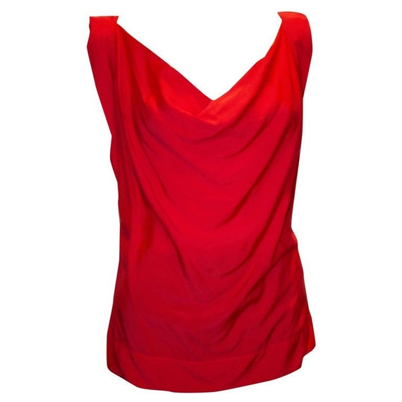 Vivienne Westwood Anglomania Red Top