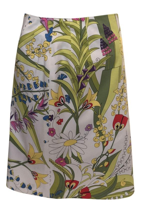 A Vintage 1990s Averardo Bessi Cotton Summer Skirt