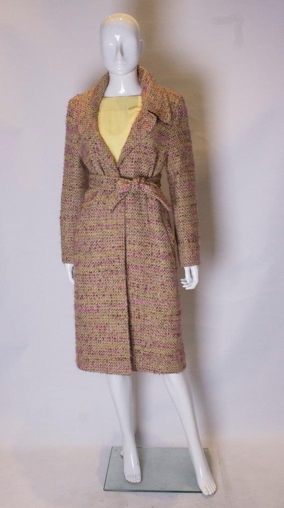 A Vintage 1990s pastel Jean Muir Wool winter Coat