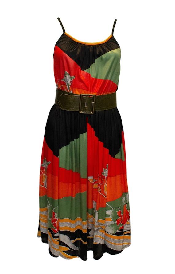 Vintage Leonard Jersey Dress