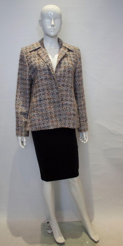 A Vintage 1980s Jean Muir Boucle wool Jacket