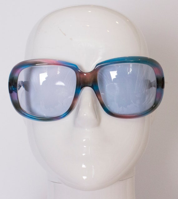 A pair of Vintage 1970s sunglasses by Oliver Golds