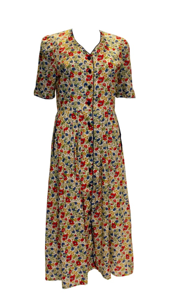 Vintage Liberty Print Cotton Dress