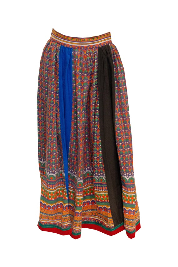 1970s Mushroom Mulit Colour Skirt