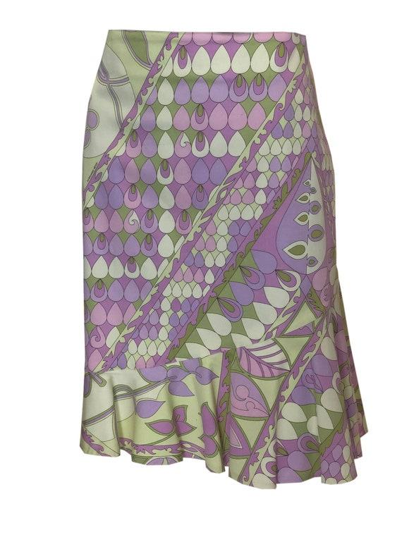 A Vintage 1980s Averardo Bessi Cotton Summer Skirt
