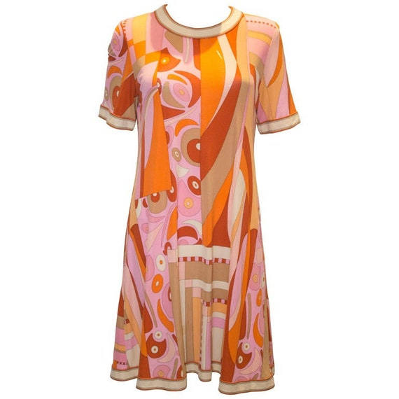 A Vintage 1960s Averardo Bessi Silk Jersey Dress