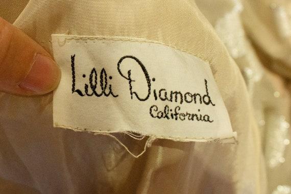 Vintage Lilli Diamond Evening Dress - image 7