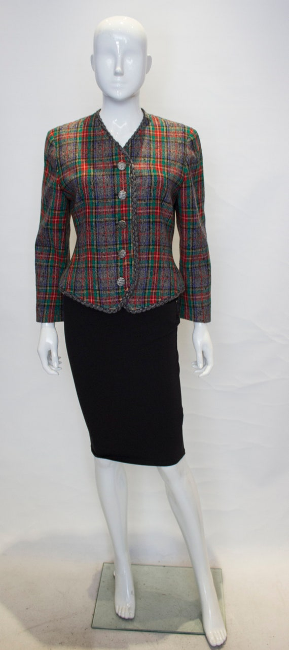 A Vintage 1980s wool Ungaro Jacket