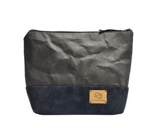 """Cosmetic bag """"Ilse"""" made of washable paper in various designs"""
