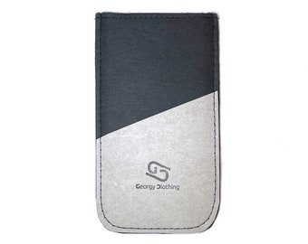 """Smartphone case """"Lisbeth"""" made of washable paper * vegan * custom made for your smartphone"""