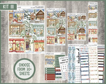 Weekly Sticker Kit #111 - Standard Vertical - 7x9 - A5 - B6 - Mini - Weeks - TPC - Penny Pages - A&N - Life Planner - KIT111