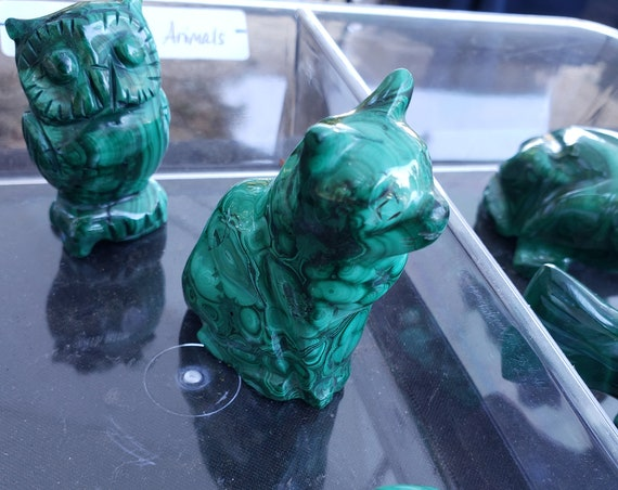 Malachite Animals